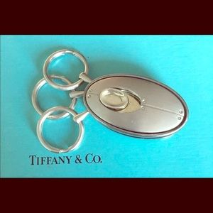 "AUTHENTIC Tiffany & Co. ""Streamerica"" Key Fob."